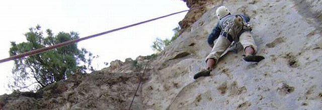 Del gimnasio a la roca