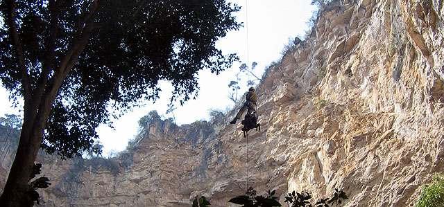 Cimarrón en Huehuetenango, descenso, exploración y leyenda