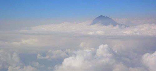 Ascenso al Tajumulco en solitario, de asalto