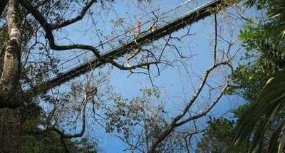 Puentes colgantes en Guatemala