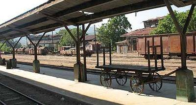 Museo del Ferrocarril en Zacapa