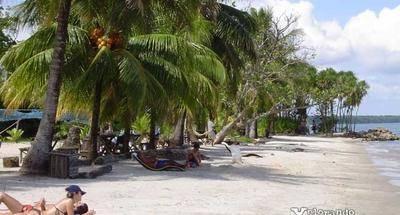 Un paraíso tropical en Playa Blanca, Izabal