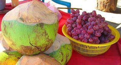 Las uvas del Oriente de Guatemala