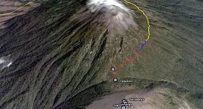 Ruta GPS: Acatenango, Fuego y Acatenango