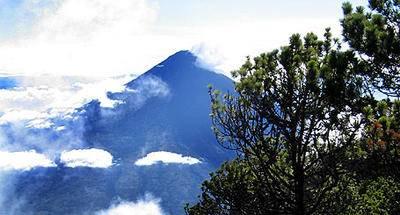 Ruta GPS: Volcán de Agua