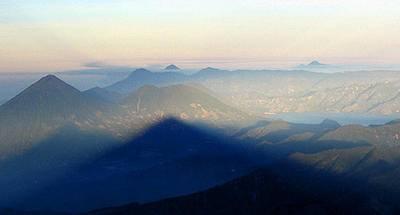 La sombra de los volcanes
