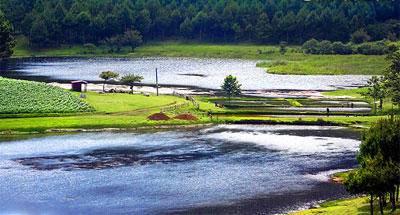 Laguna de Chichoy, descanso y pesca