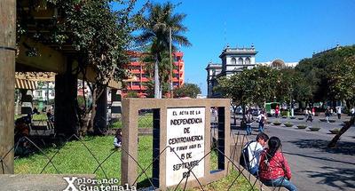 Dónde se firmó el Acta de Independencia de Guatemala