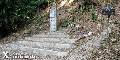 Ceibal y sus estelas mayas / foto 9