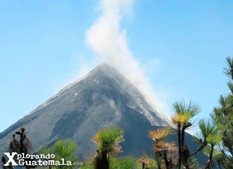 Cima del volcán de Fuego / foto 3