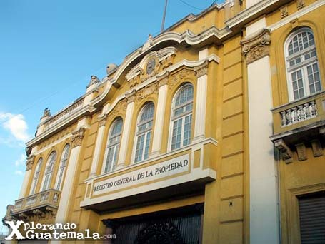 Edificio del Registro de la Propiedad de Guatemala