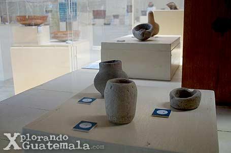 Museo de arqueología Maya en Yaxhá / foto 4