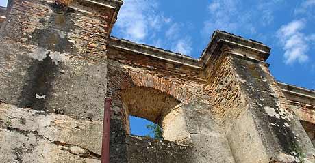 antigua catedral de Chiquimula
