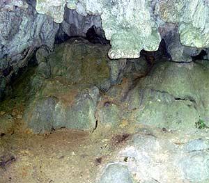 Formaciones rocosas en Semuc Champey