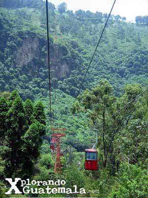 Parque del Telef�rico y mirador de Amatitl�n