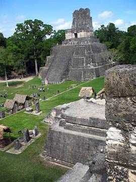 Templo II de Tikal