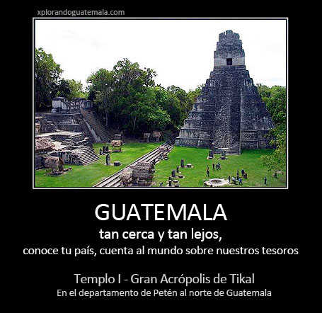 Guatemala, tan cerca