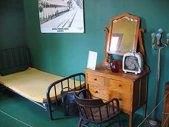 Antigua habitación de primera clase.