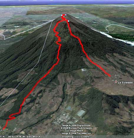Ruta GPS: Volcán Acatenango por Concepción Calderas-foto-18--9-1-2014