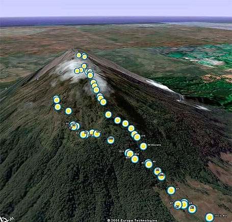 Ruta GPS: Acatenango por Cazadores y Conejera-foto-28--9-1-2014