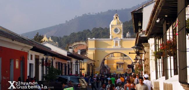 Calle del Arco La Antigua Guatemala
