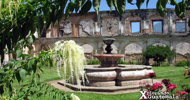 jardinización en santa clara antigua guatemala
