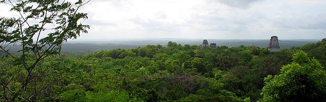 Viajando a Tikal