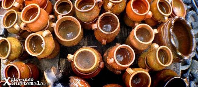 Vasijas Y Ollas De Barro Guatemala Turismo Viajes Y Montañismo