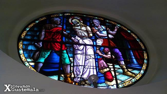 vitral de Santo Domingo