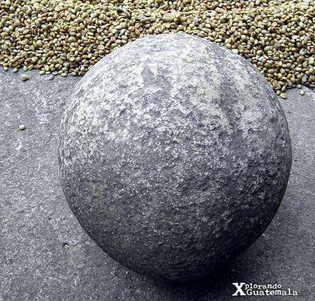 Antiguas esferas de piedra