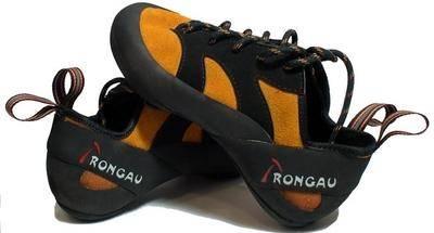Los zapatos de escalada