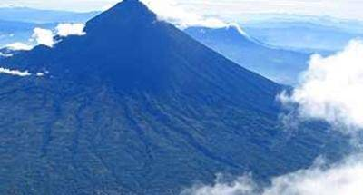 El Volcán de Agua en Guatemala