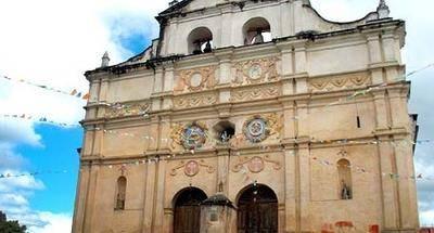 Capilla El Calvario en San Juan Chamelco