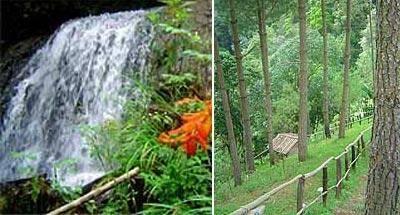 Parque ecoturístico Cascadas de Tatasirire en Jalapa
