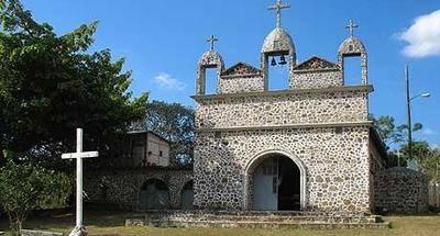 Iglesia de rocas en Santa Rita