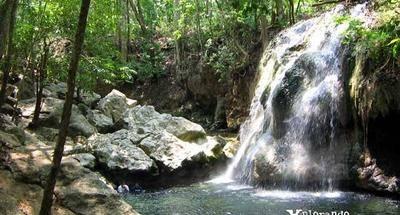 Finca El Paraíso, una cascada de agua caliente
