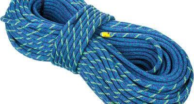 La cuerda dinámica en la escalada