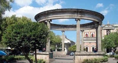 Parque Centroamérica en Quetzaltenango