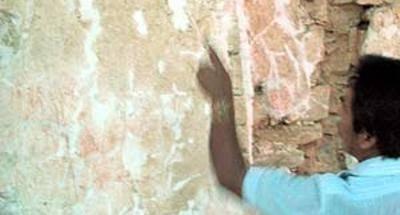 El costoso estuco de las pirámides mayas