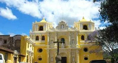 Área conventual de La Merced, en La Antigua Guatemala