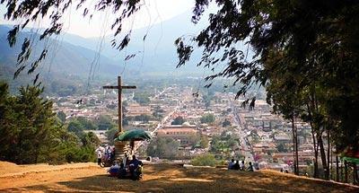 Mirador del Cerro de la Cruz en La Antigua Guatemala