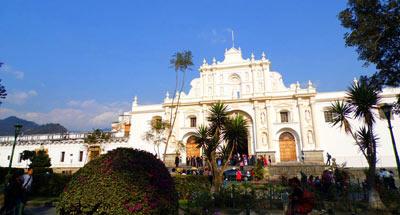 Hacia La Antigua Guatemala, ruta alterna
