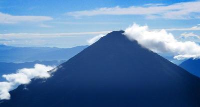 El Volcán de Agua y Hielo