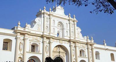Catedral de San José en La Antigua Guatemala: detalles