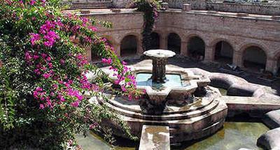 La fuente más grande de La Antigua Guatemala