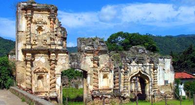 Las lejanas Ruinas de Candelaria