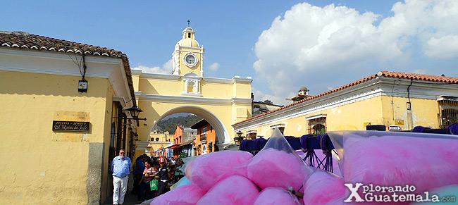 Calle del Arco Antigua Guatemala