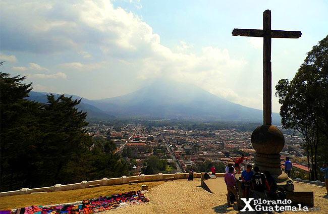 cerro la cruz antigua guatemala