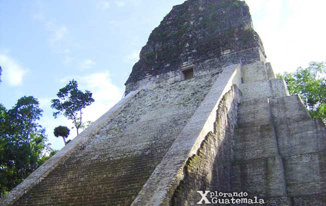 Mi primer viaje a Tikal, en auto (año 2001)