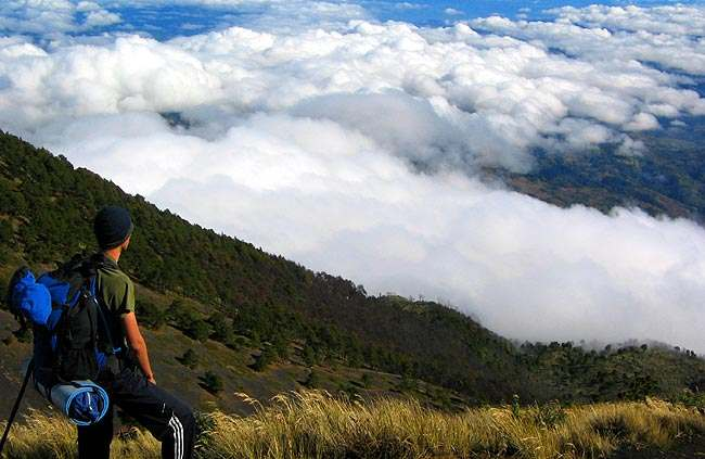 El volcán más hermoso de Guatemala
